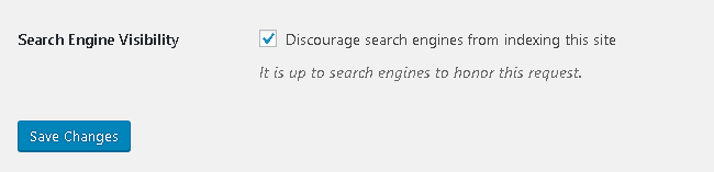 Make sure search bots can index your website